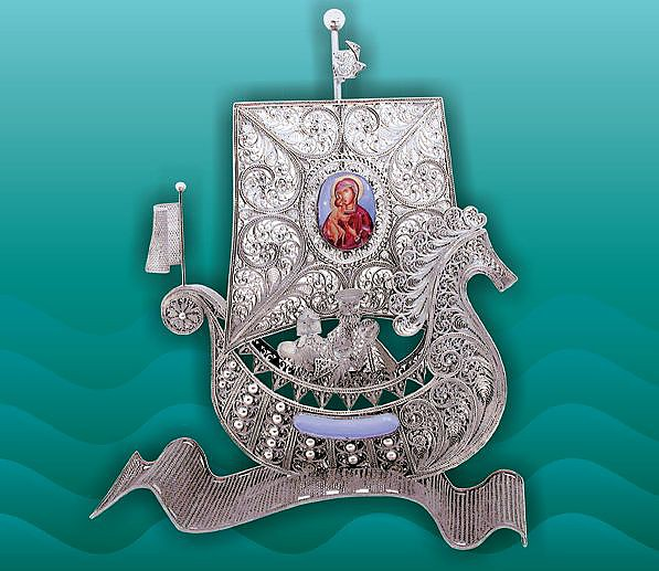 серебрянный герб