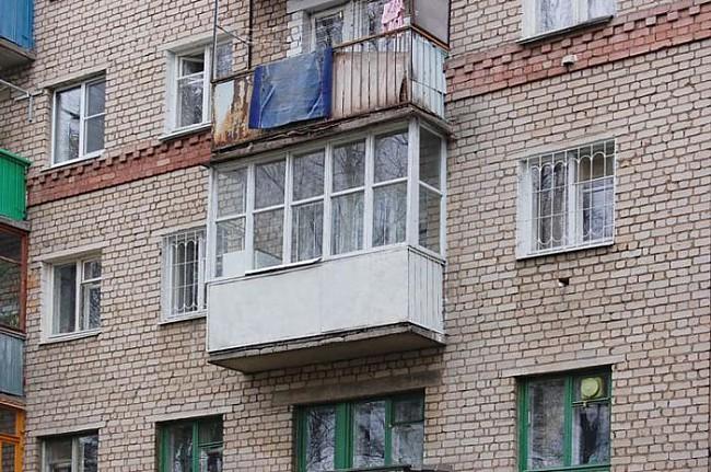 Регион44 - фотографии костромы, балкон в костроме.
